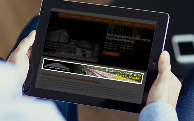 Great Lakes Engineering Group Web Ad