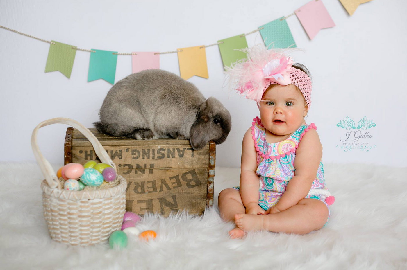 Easter photography by J. Galko Photography