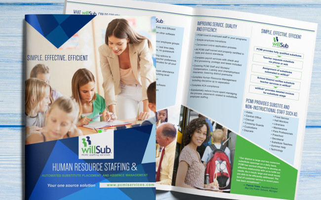 willSub Brochure Design